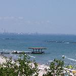 Mamaia beach and the Black Sea