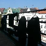 Laundry on our balcony