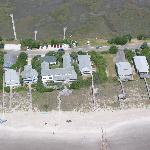 Sea View Inn From Above.  I flew the plane!