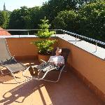 Hotel Alley - terrace