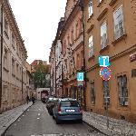 Retezova Street - Hotel is located here