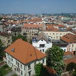 View of the Old Brno from Cathedral Tower 1