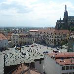 View of Zelny Trh from Tower