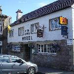 Fife Arms in Dufftown main square