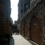 The Old City is a warren of ancient narrow streets and alleys.