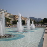 Place Massena fountains