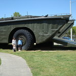 Big amphibious vehicle