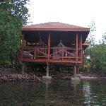 Cabin 52 from a kayak