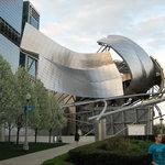 The Jay Pritzker Pavilion diseñado por Frank O. Gehry