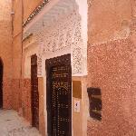 L'entrée du Riad
