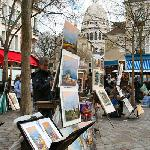Place du Tertre, and excellent square with local artists, great food and the Salvador Dali Museu