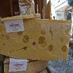 big cheese kitzbuhel market stall