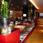 Stylische Lobby
