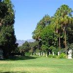 Statuary garden