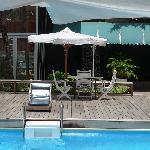 La piscine renovée