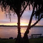 Perfect sunset at Noosa