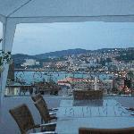 twilight on the terrace