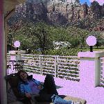Shared balcony