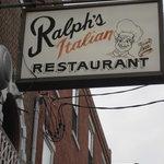 Ralph's name sign.