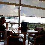Corte Ingleis restaurant view