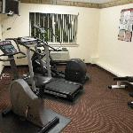 huge fitness center