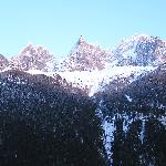 From our room in Chamonix