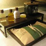 Herbs and toiletries