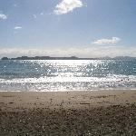 Long beach - 10 minute walk away
