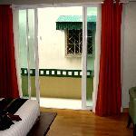 "My ""interesting"" balcony view"
