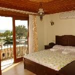 double room with sea view & balcony