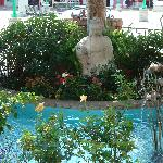 Fountain in China Town Shopping Center