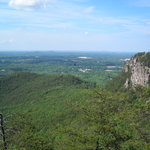 View from summit, Crowder's Mtn.