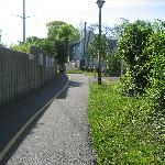 Bike Path to the Metro