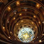 The atrium, looking down.