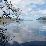 View of Loch Ness from Foyer