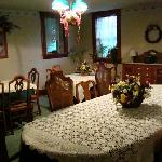 Dining room for our country breakfast