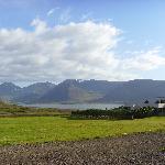 Looking across Dyrafjord towards Thingeyri