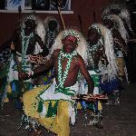 Boys performing traditional dance at Heaven Kigali Rwanda