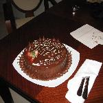 My Birthday cake at the resort