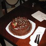 My Birthday cake at the resort