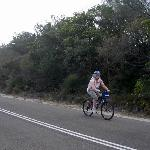 Cycling to North Head