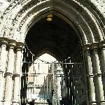 First Unitarian Church on Chestnut St ~ Arched Entrance