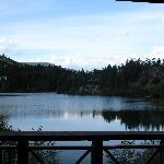 Nita Lake from balcony