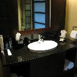 nice simple wash area