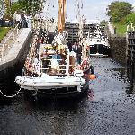 two ships in loch