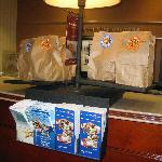 Grab and Go Breakfast at Front Desk