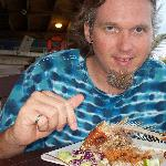 Mmmm...dinnner - whole red snapper (well it WAS whole)
