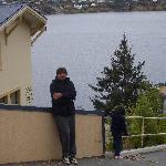 outside villa del lago