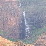 Waterfall at Waimea Canyon