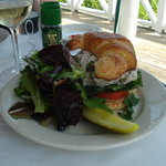 Chicken Salad Croissant (lunch menu)